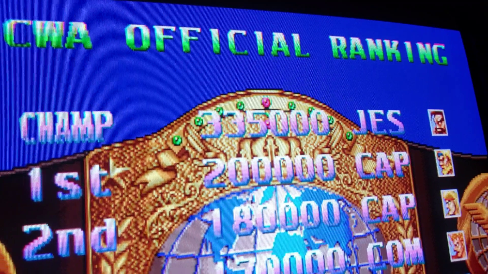 JES: Ring Of Destruction: Slam Masters II [ringdest] (Arcade Emulated / M.A.M.E.) 335,000 points on 2020-01-03 04:06:04