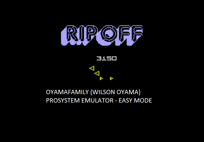 oyamafamily: Rip Off: Easy (Atari 7800 Emulated) 3,150 points on 2016-02-28 12:51:17