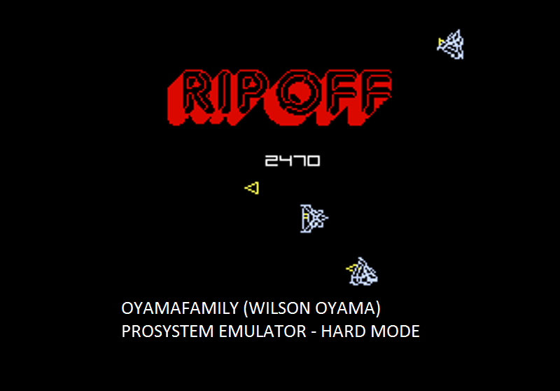 oyamafamily: Ripoff: Hard (Atari 7800 Emulated) 2,470 points on 2016-02-28 12:51:24