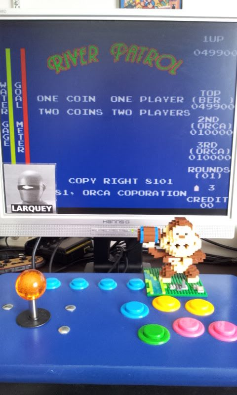 Larquey: River Patrol [rpatrol] (Arcade Emulated / M.A.M.E.) 49,900 points on 2017-07-02 10:27:49