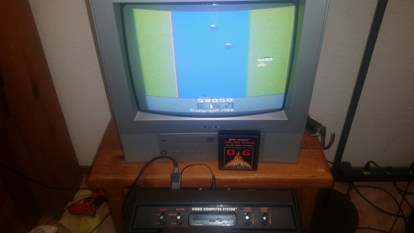 OriginalGamer: River Raid (Atari 2600 Novice/B) 58,050 points on 2018-01-07 03:35:53