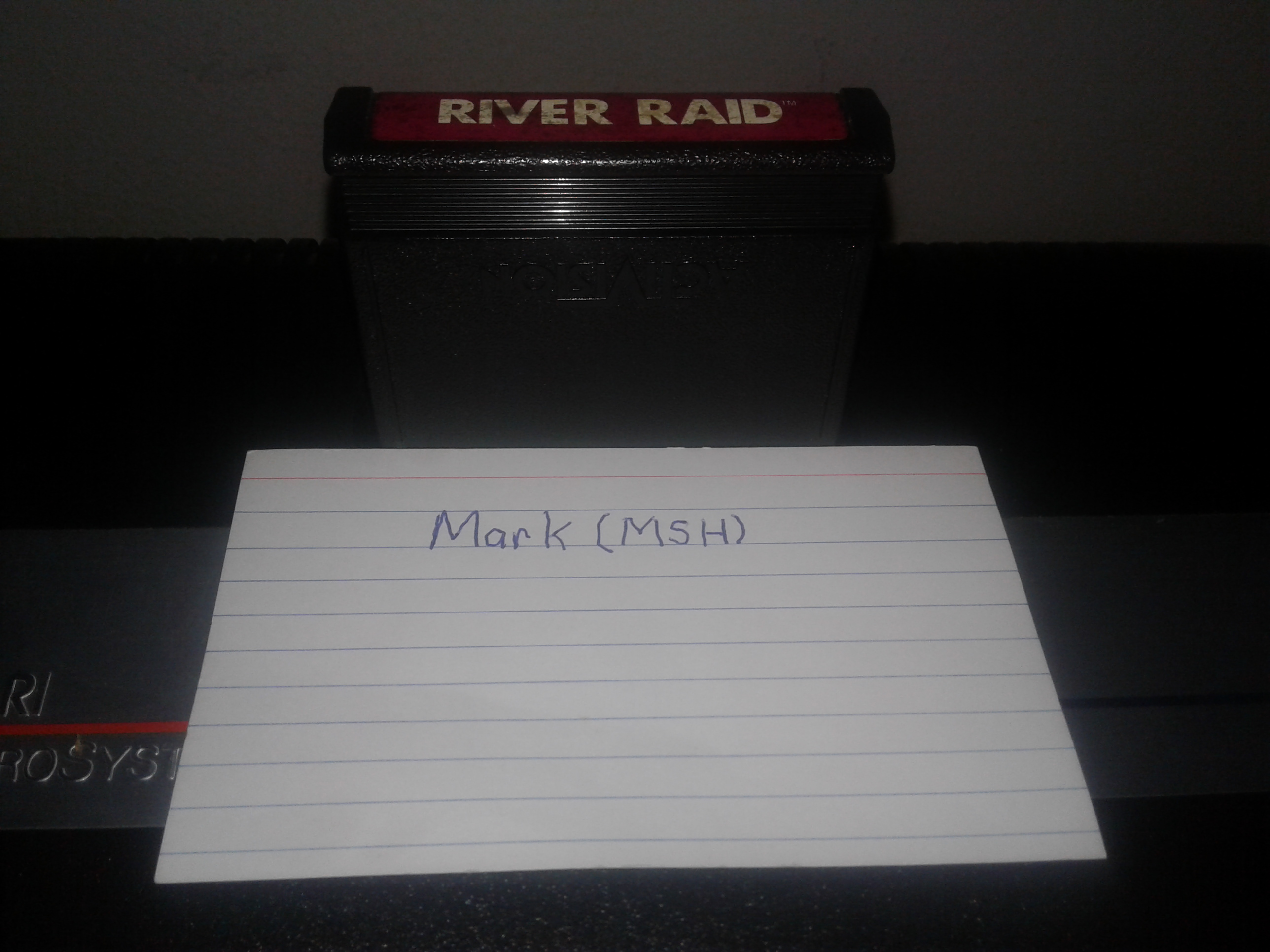 Mark: River Raid (Atari 2600 Novice/B) 17,940 points on 2019-02-06 00:41:47