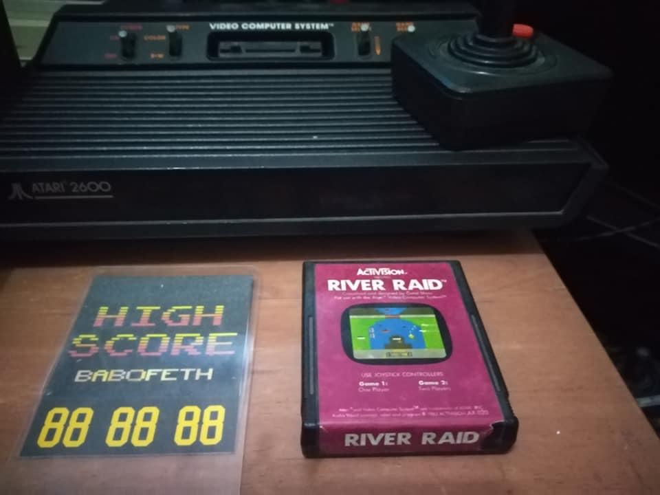 BabofetH: River Raid (Atari 2600 Novice/B) 132,770 points on 2020-08-11 04:11:13