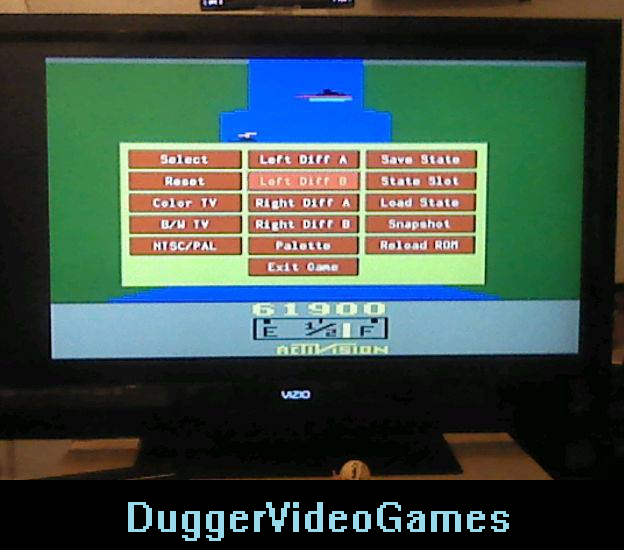 DuggerVideoGames: River Raid (Atari 2600 Emulated Novice/B Mode) 61,900 points on 2016-04-03 22:23:32