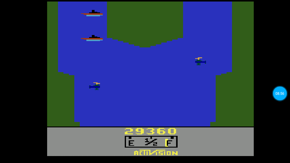 omargeddon: River Raid (Atari 2600 Emulated Novice/B Mode) 29,360 points on 2018-07-21 12:24:25