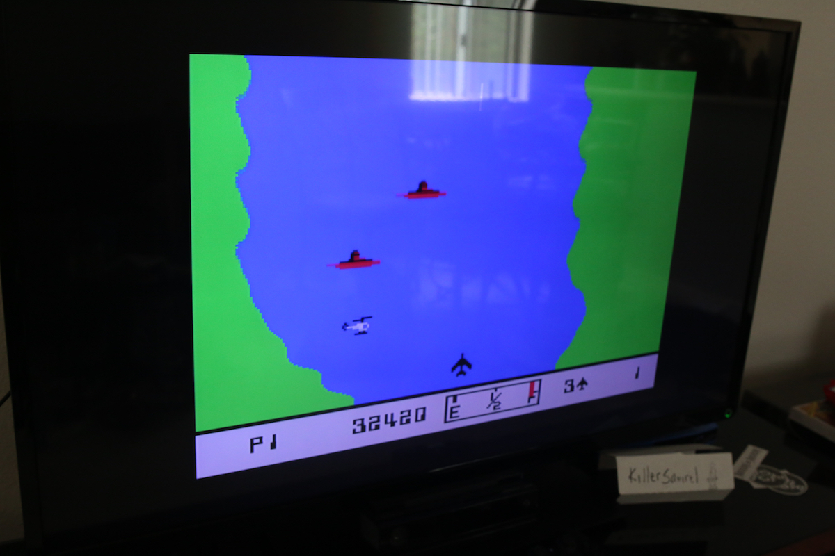 killersquirel: River Raid (Colecovision) 32,420 points on 2016-07-03 15:38:53