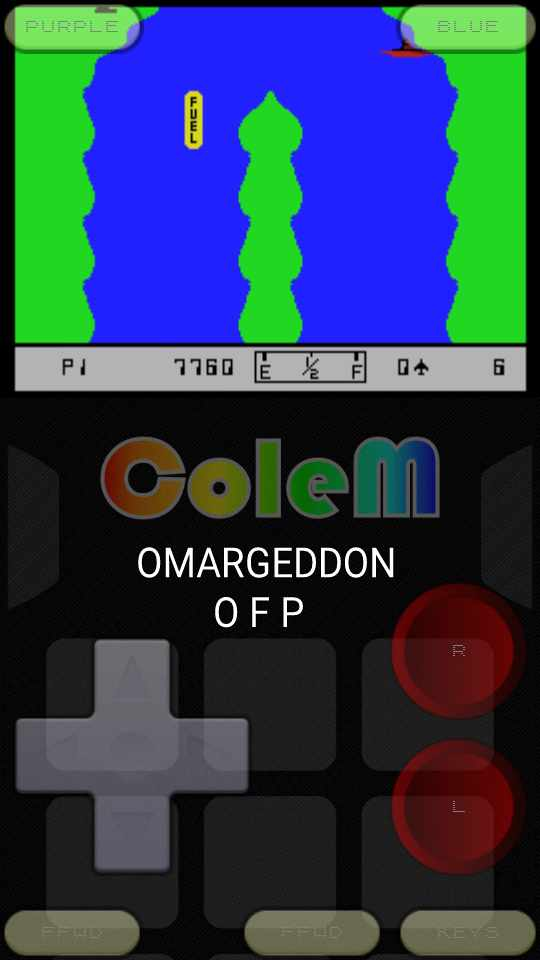omargeddon: River Raid (Colecovision Emulated) 7,760 points on 2016-11-03 00:35:47