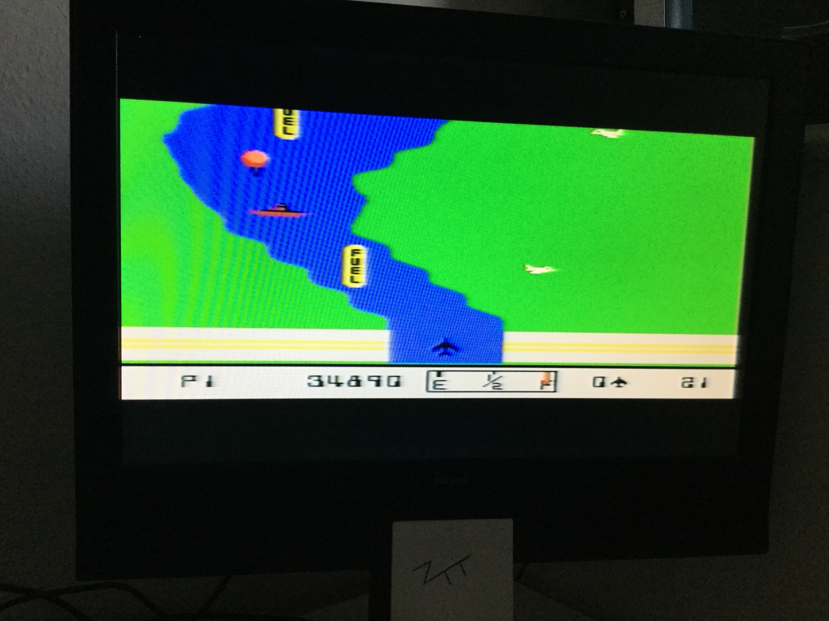 Frankie: River Raid (Colecovision) 34,890 points on 2016-12-28 06:39:05