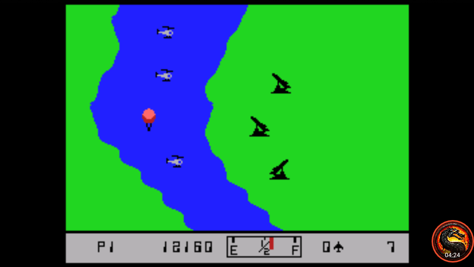 omargeddon: River Raid (Colecovision Emulated) 12,160 points on 2020-07-26 02:32:37