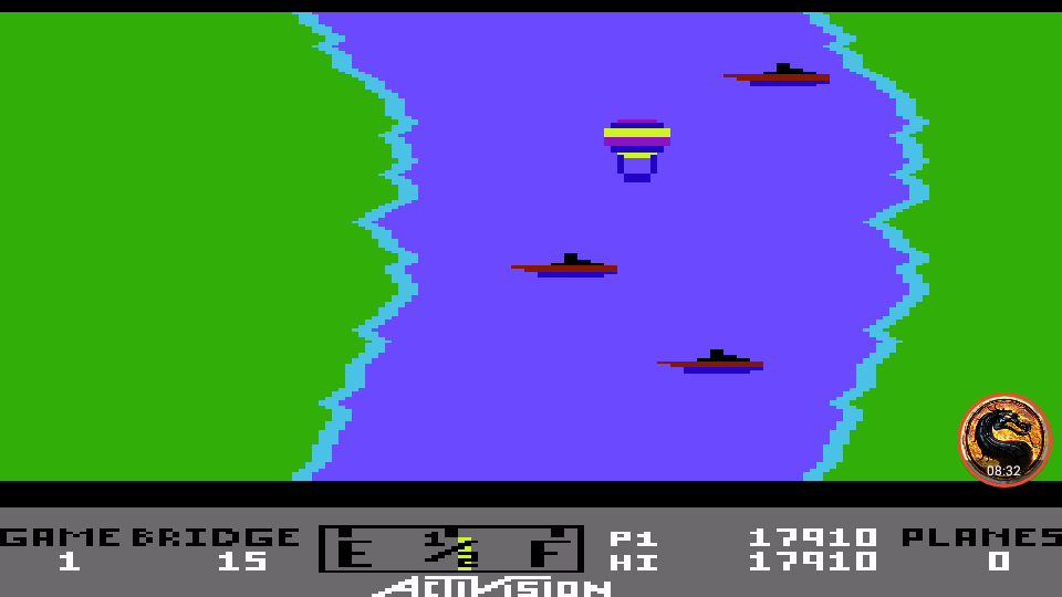 omargeddon: River Raid (Commodore 64 Emulated) 17,910 points on 2019-08-26 23:56:19