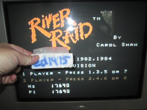ed1475: River Raid [Game 3] (Colecovision) 17,890 points on 2019-08-15 19:39:28