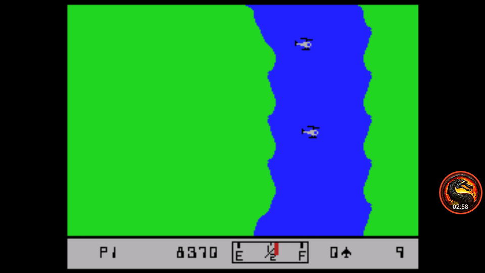 omargeddon: River Raid [Game 3] (Colecovision Emulated) 8,370 points on 2020-08-23 21:40:30