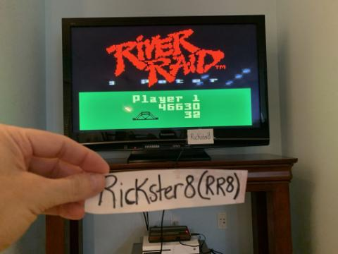 Rickster8: River Raid (Intellivision Emulated) 46,630 points on 2020-10-22 18:44:10
