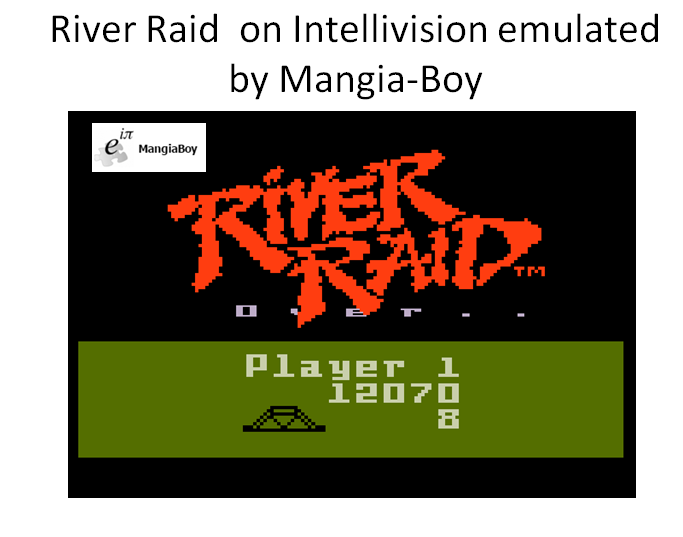 River Raid 12,070 points
