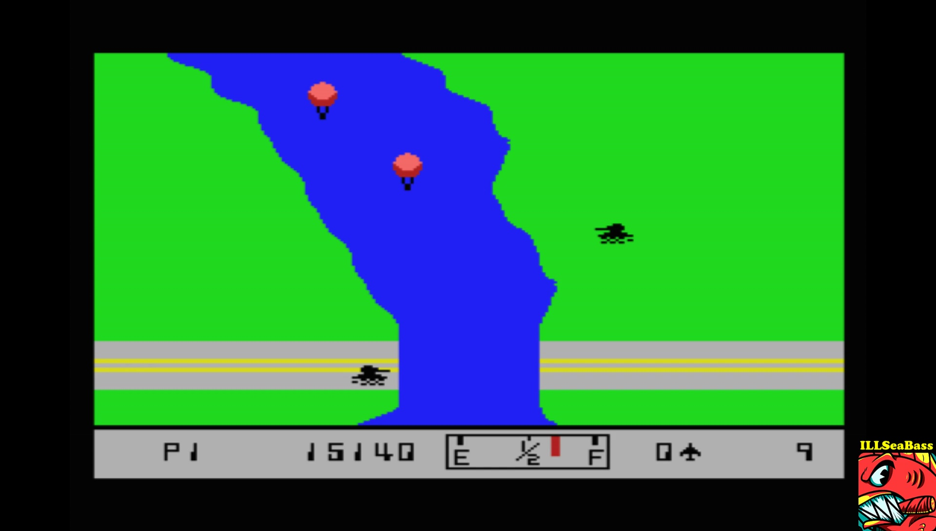 ILLSeaBass: River Raid (MSX Emulated) 15,140 points on 2017-07-22 23:17:17