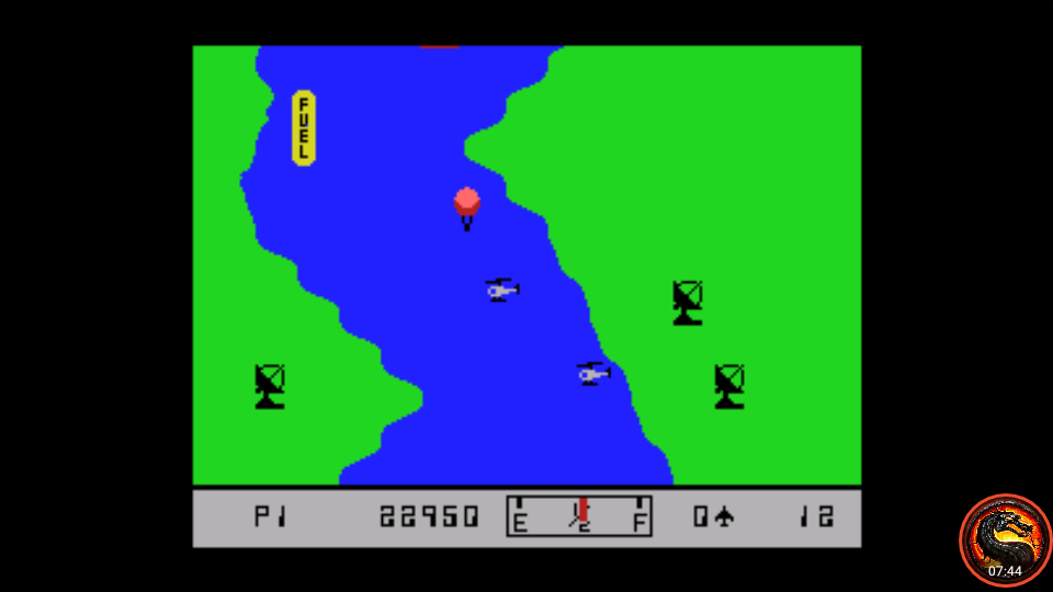 omargeddon: River Raid (MSX Emulated) 22,950 points on 2020-07-26 02:53:02