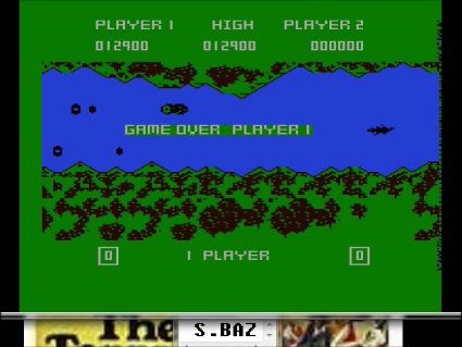 S.BAZ: River Rescue (Atari 400/800/XL/XE Emulated) 12,900 points on 2016-05-21 18:38:57