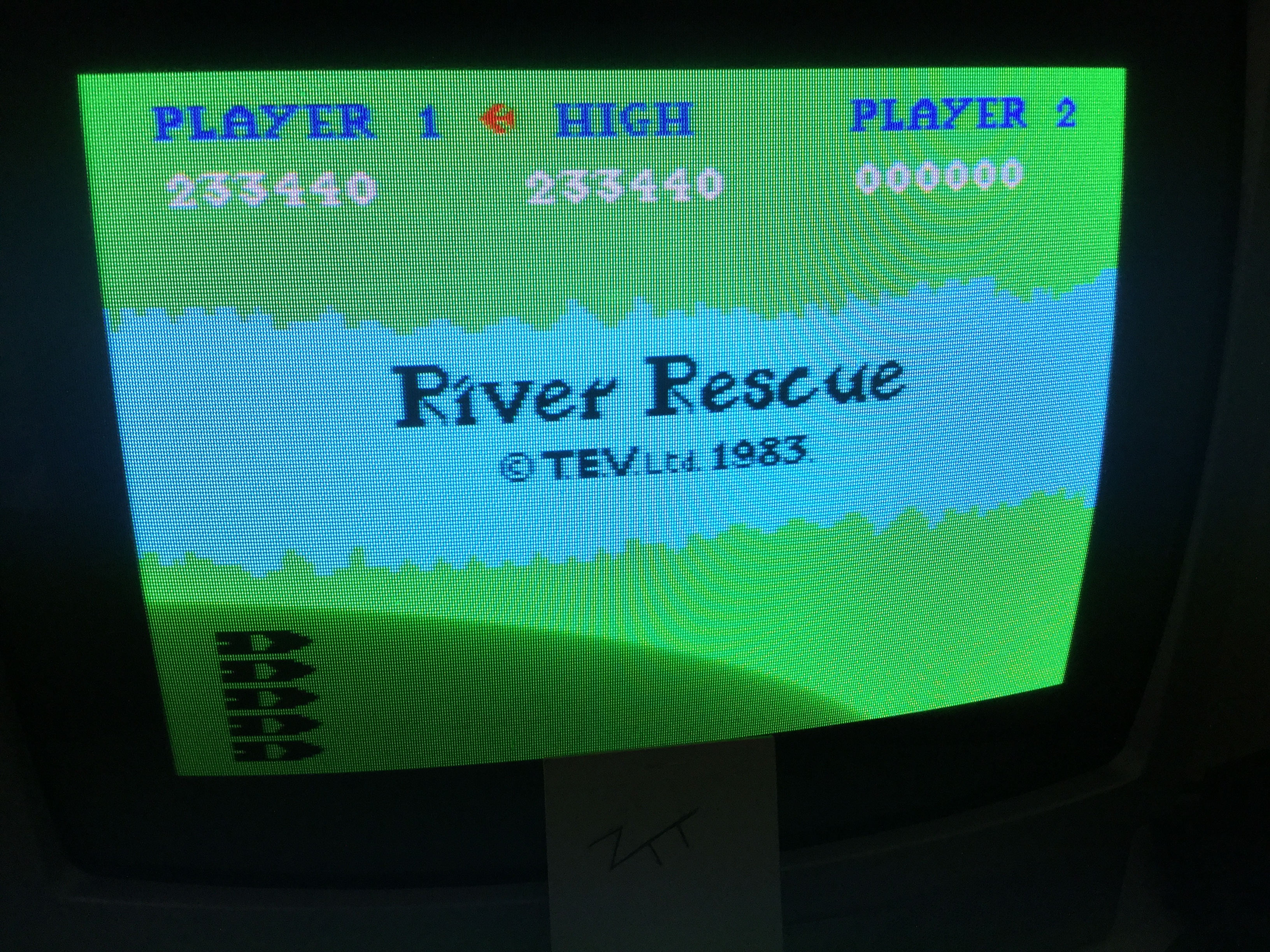 Frankie: River Rescue (ZX Spectrum) 233,440 points on 2019-05-17 01:12:37