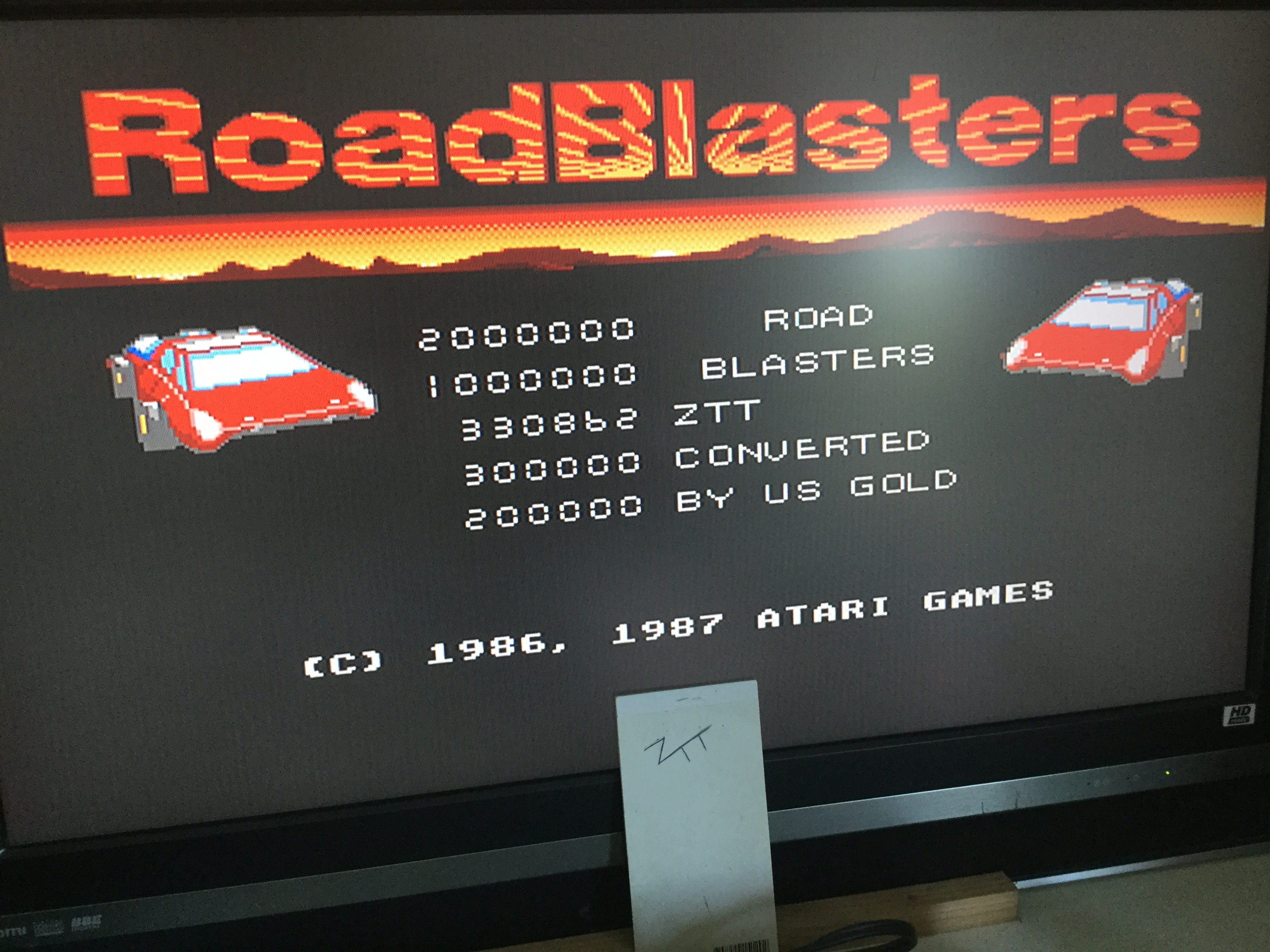 Frankie: Road Blasters [Start: Bubble City] (Amiga) 330,862 points on 2019-06-30 12:33:03