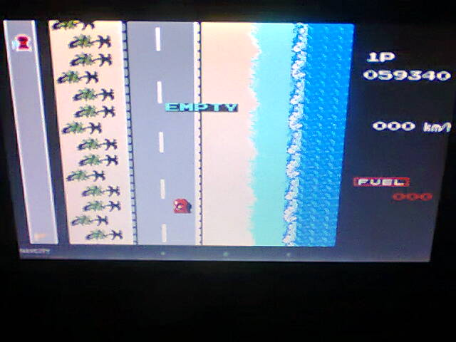 ecworiginal: Road Fighter: Level 1 (NES/Famicom Emulated) 59,340 points on 2016-07-06 11:47:06