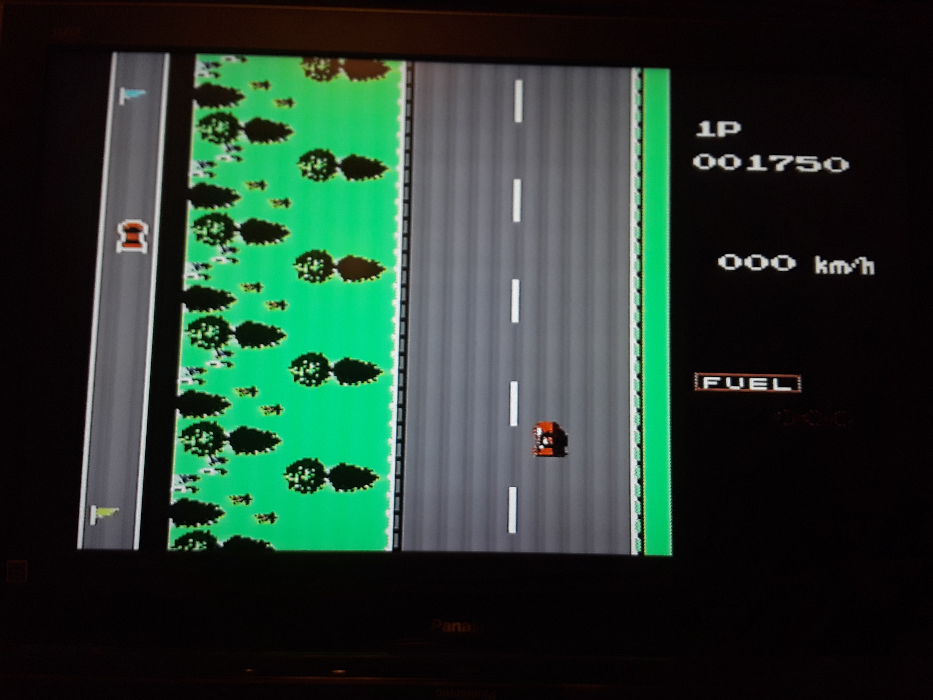 Road Fighter: Level 1 1,750 points