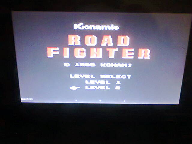 Road Fighter: Level 2 45,190 points