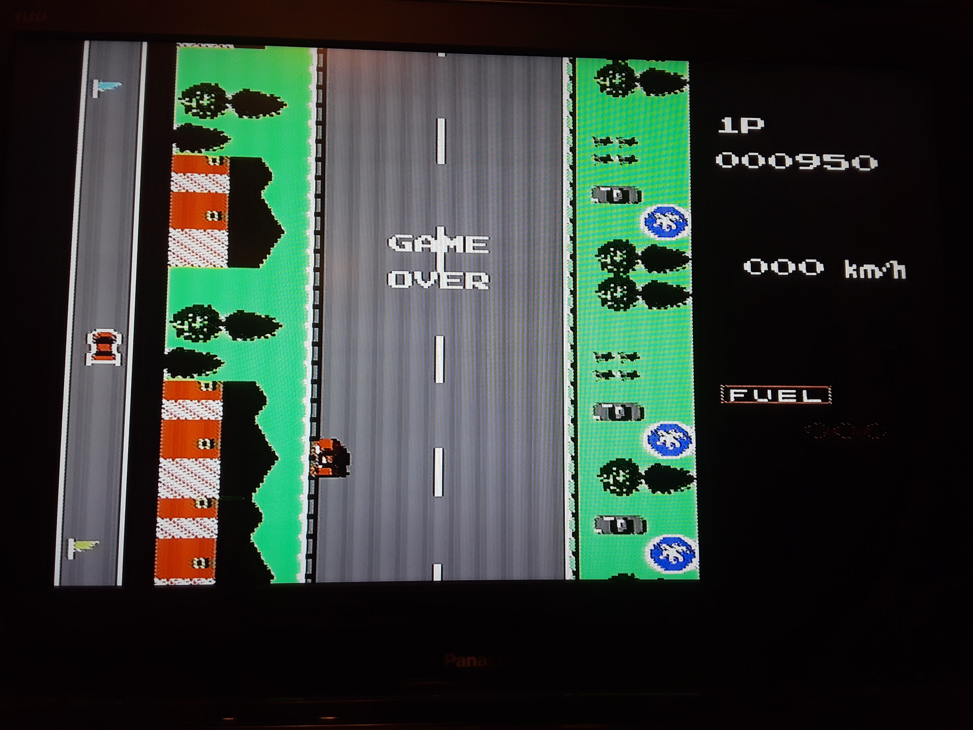 Road Fighter: Level 2 950 points