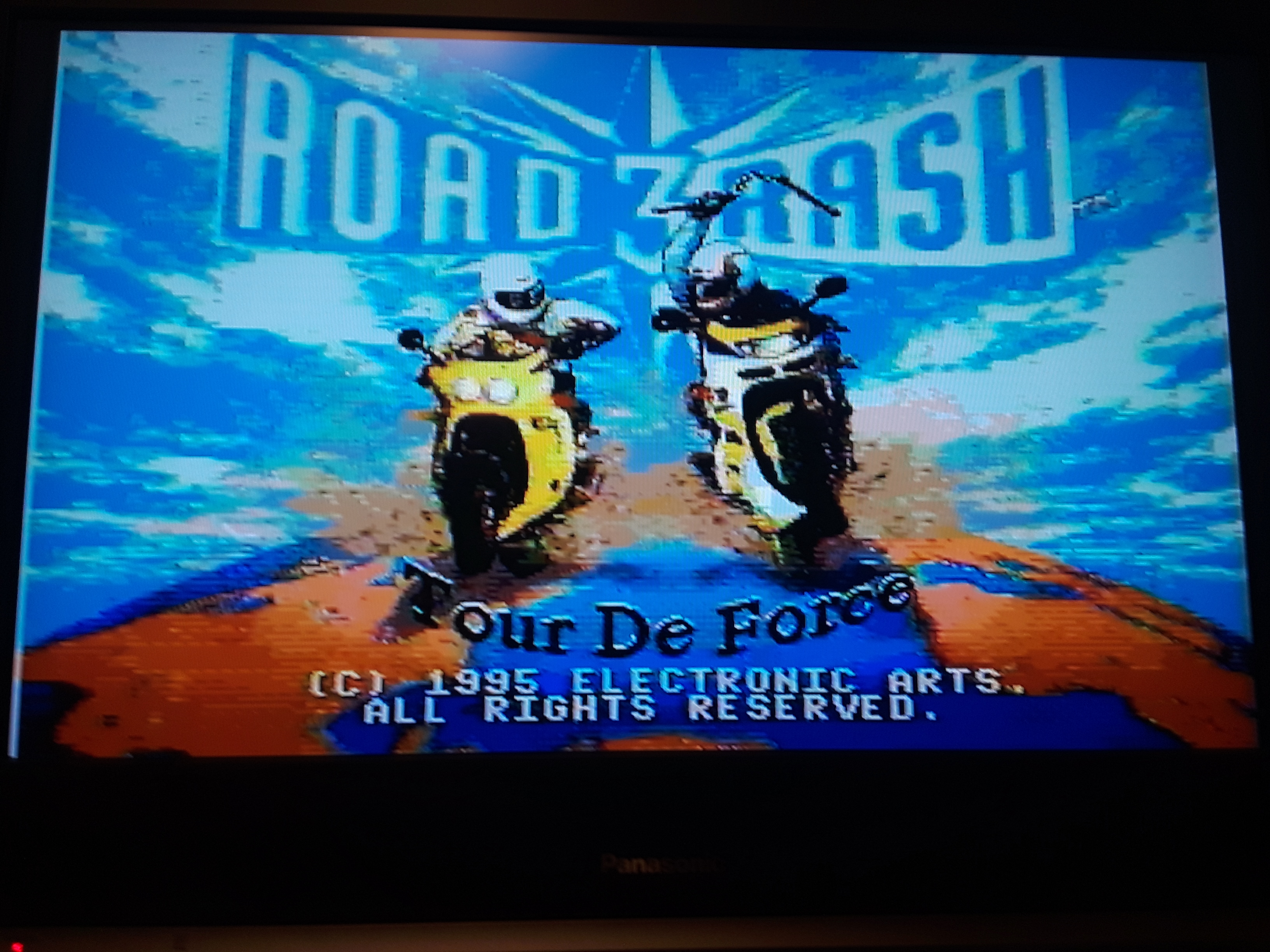 Road Rash 3 [Total Money Earned] 1,300 points