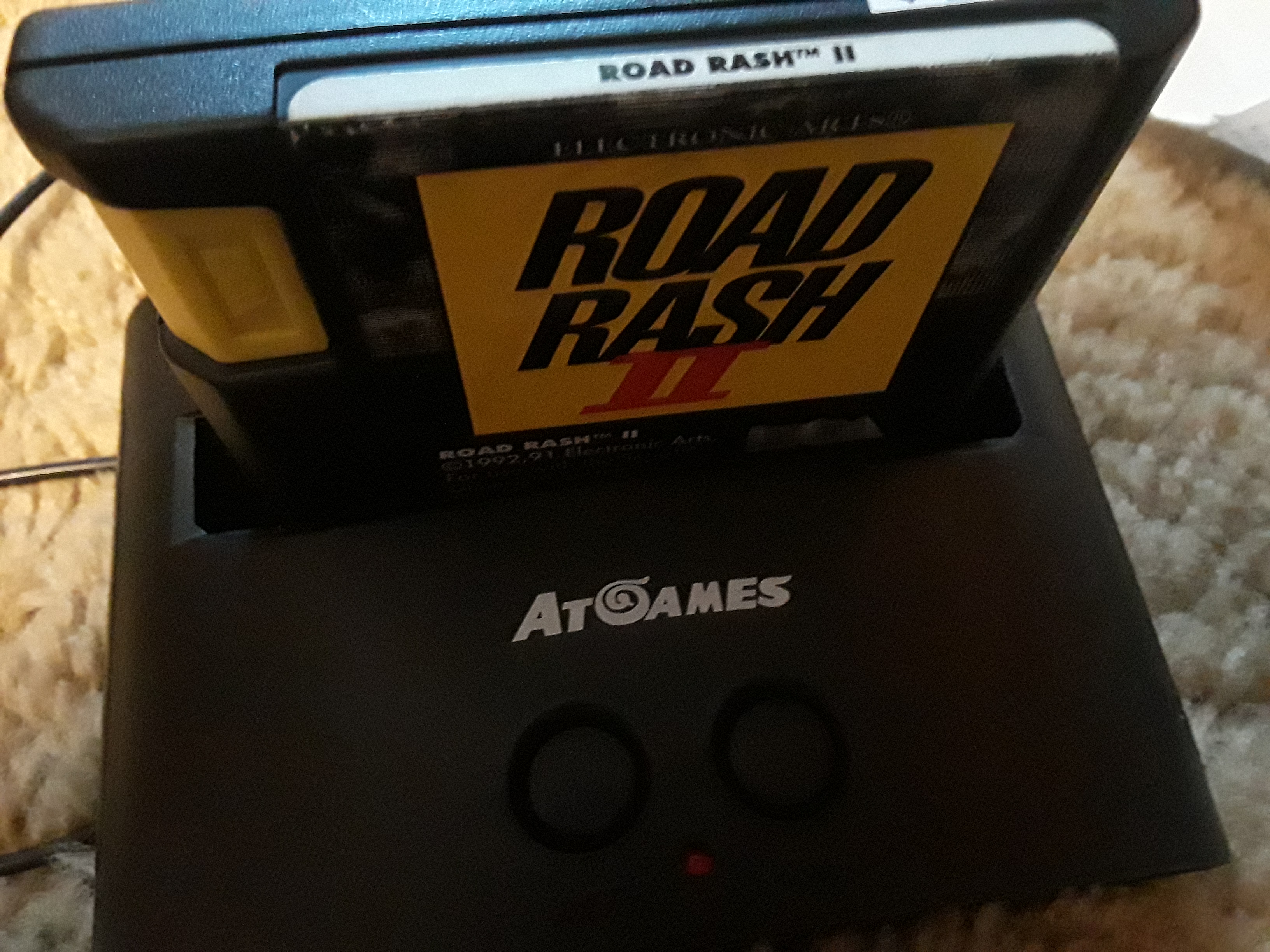 Road Rash II [Total Money Earned] 1,550 points