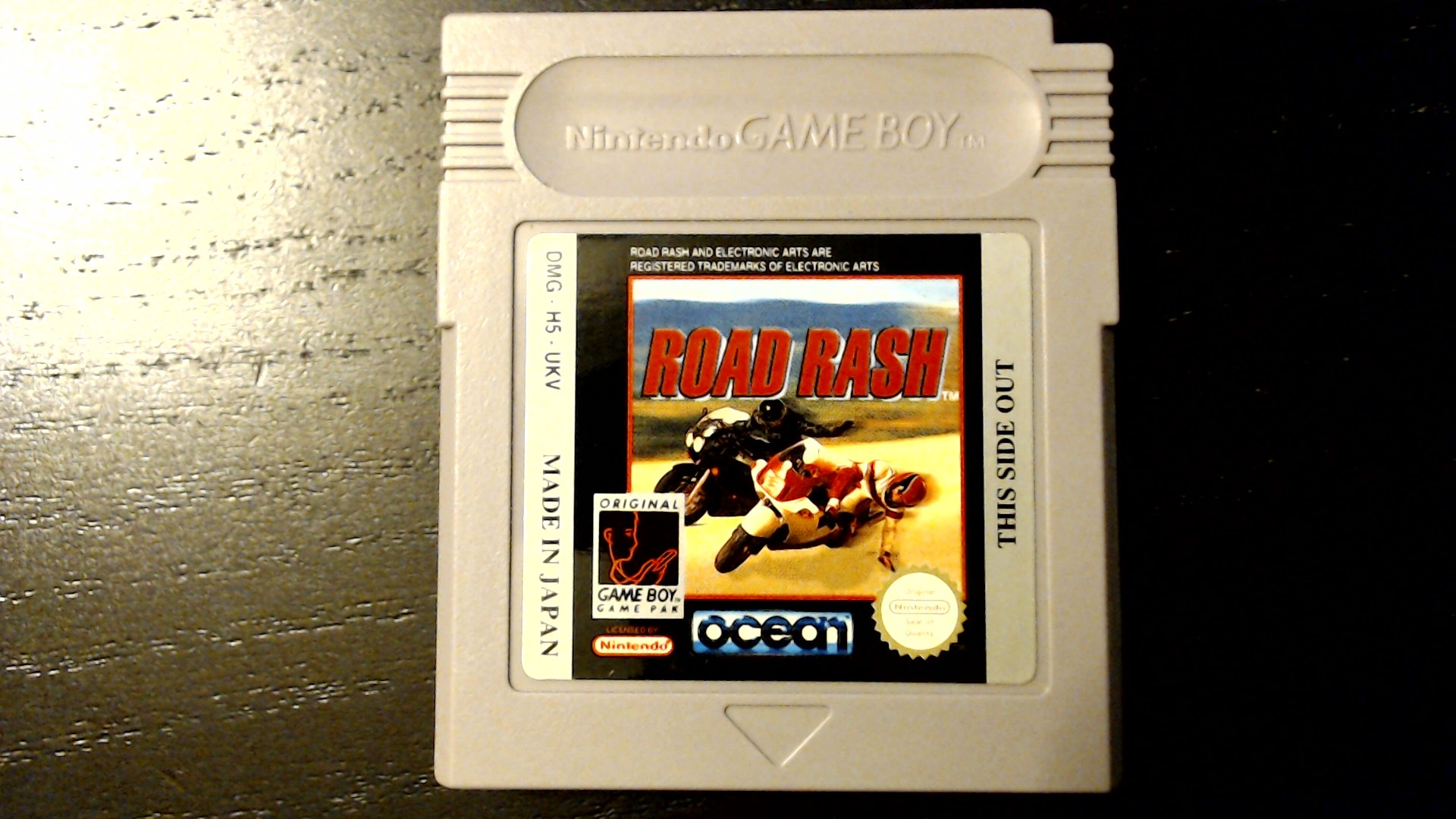 AwesomeOgre: Road Rash [Money Earned] (Game Boy) 4,500 points on 2020-05-13 19:46:47