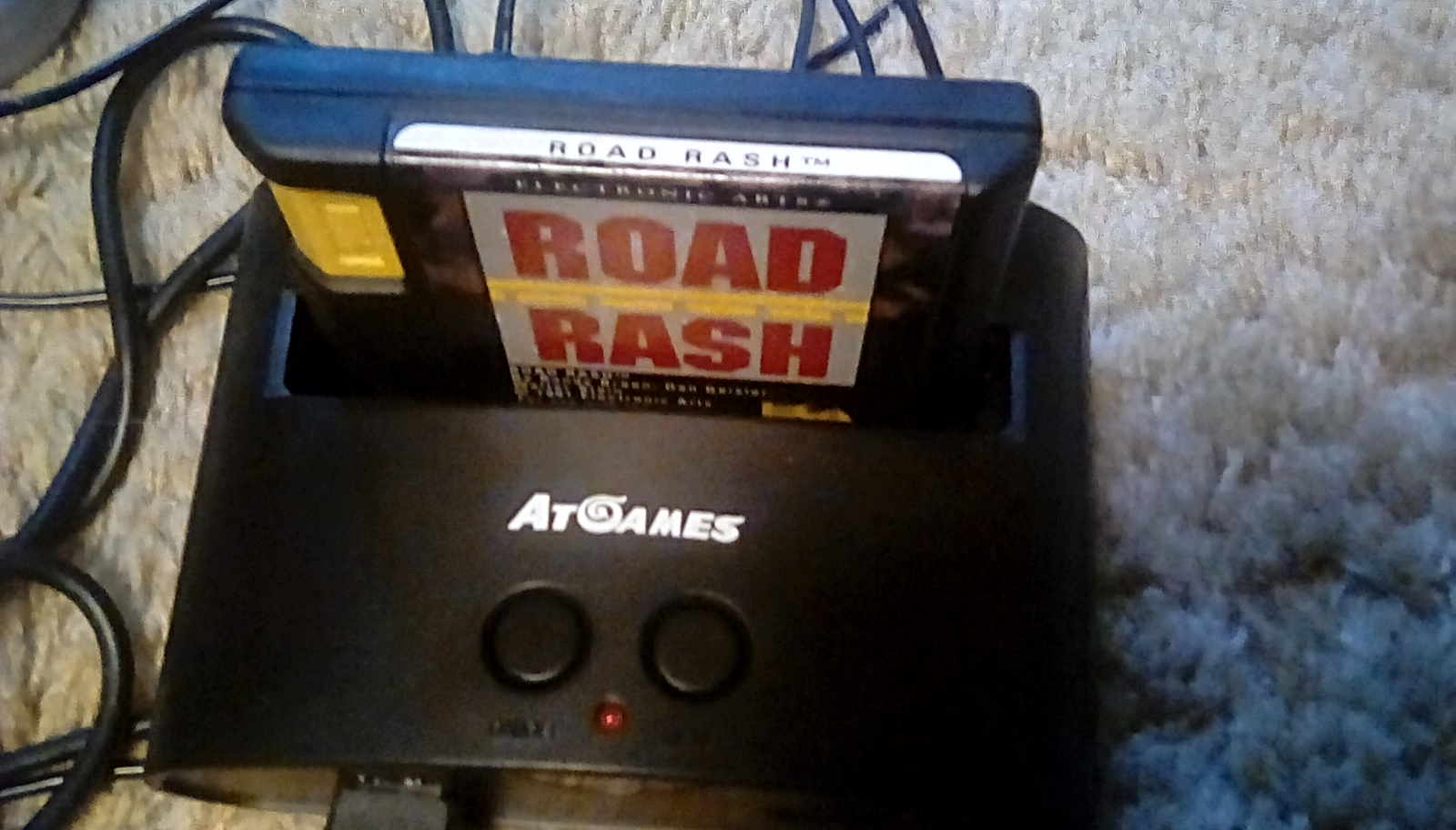 Road Rash [Total Money Earned] 1,750 points