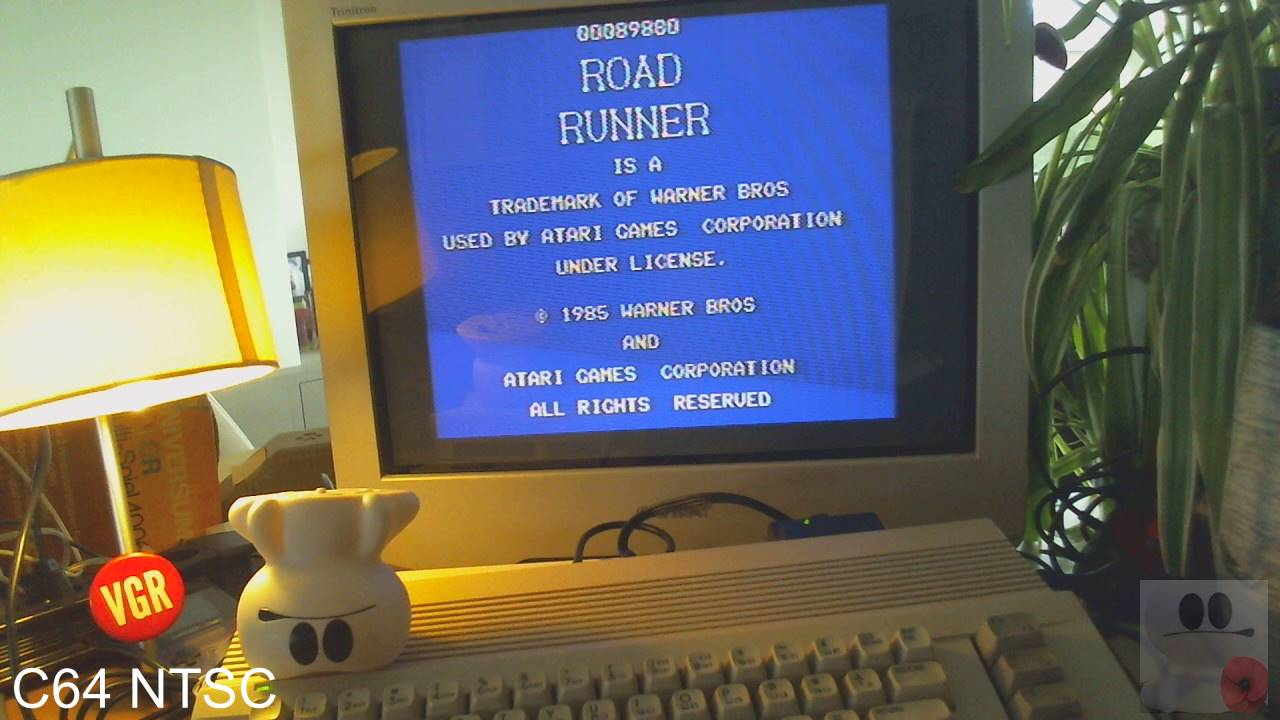 GTibel: Road Runner (Commodore 64) 89,880 points on 2020-02-20 07:12:51
