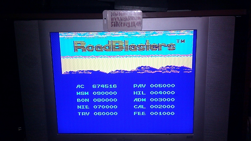 ichigokurosaki1991: RoadBlasters [Level 1 Start] (NES/Famicom Emulated) 674,516 points on 2016-07-15 15:44:11