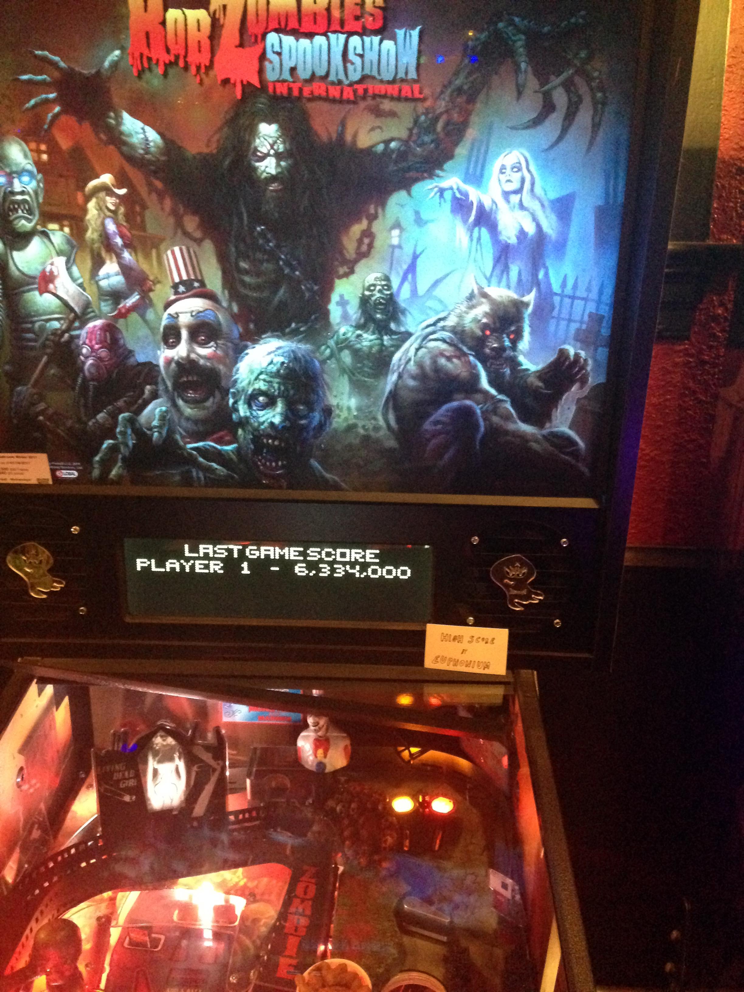 euphonium: Rob Zombie