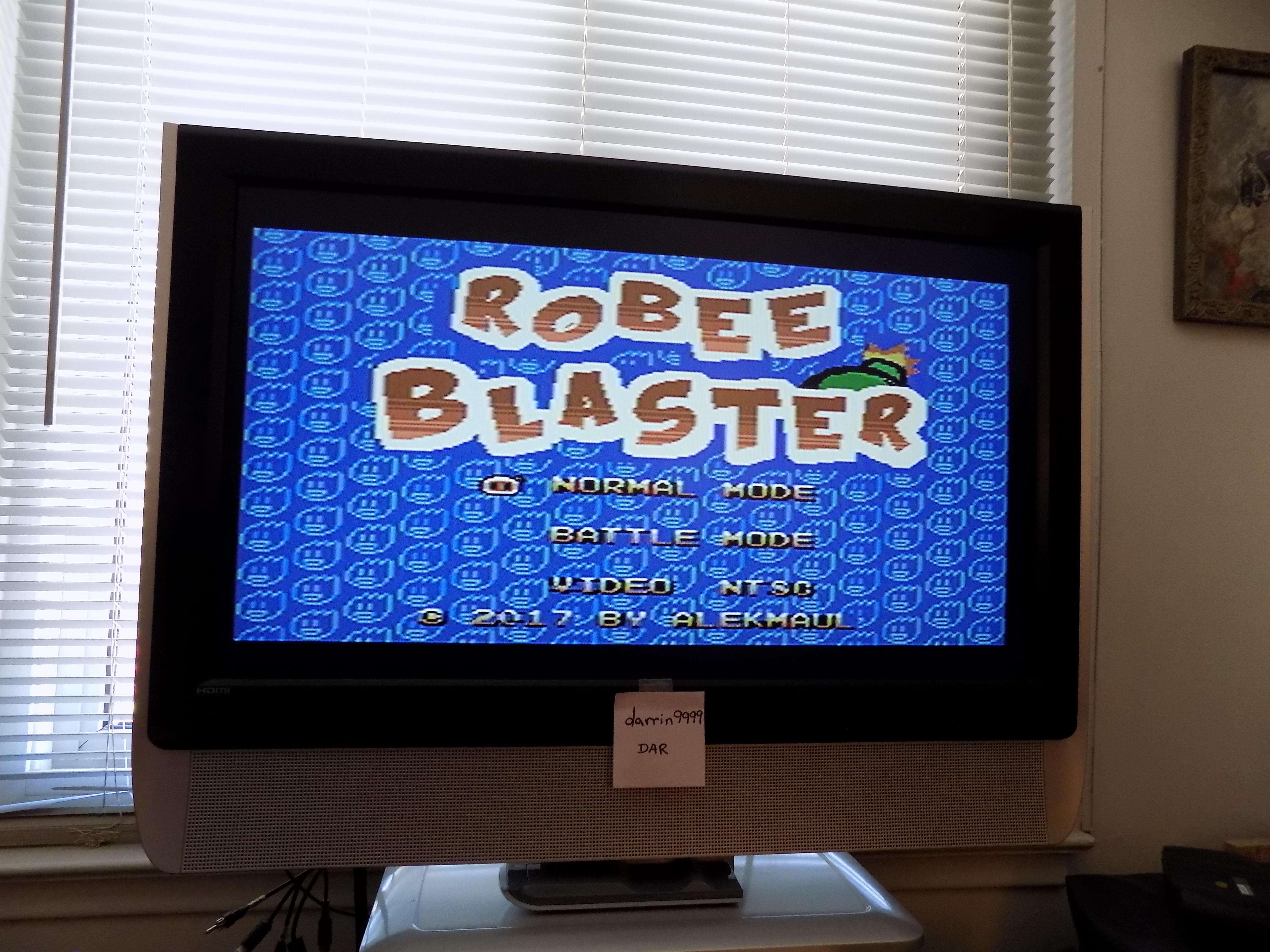 darrin9999: Robee Blaster (Colecovision) 39,900 points on 2017-08-04 11:06:10