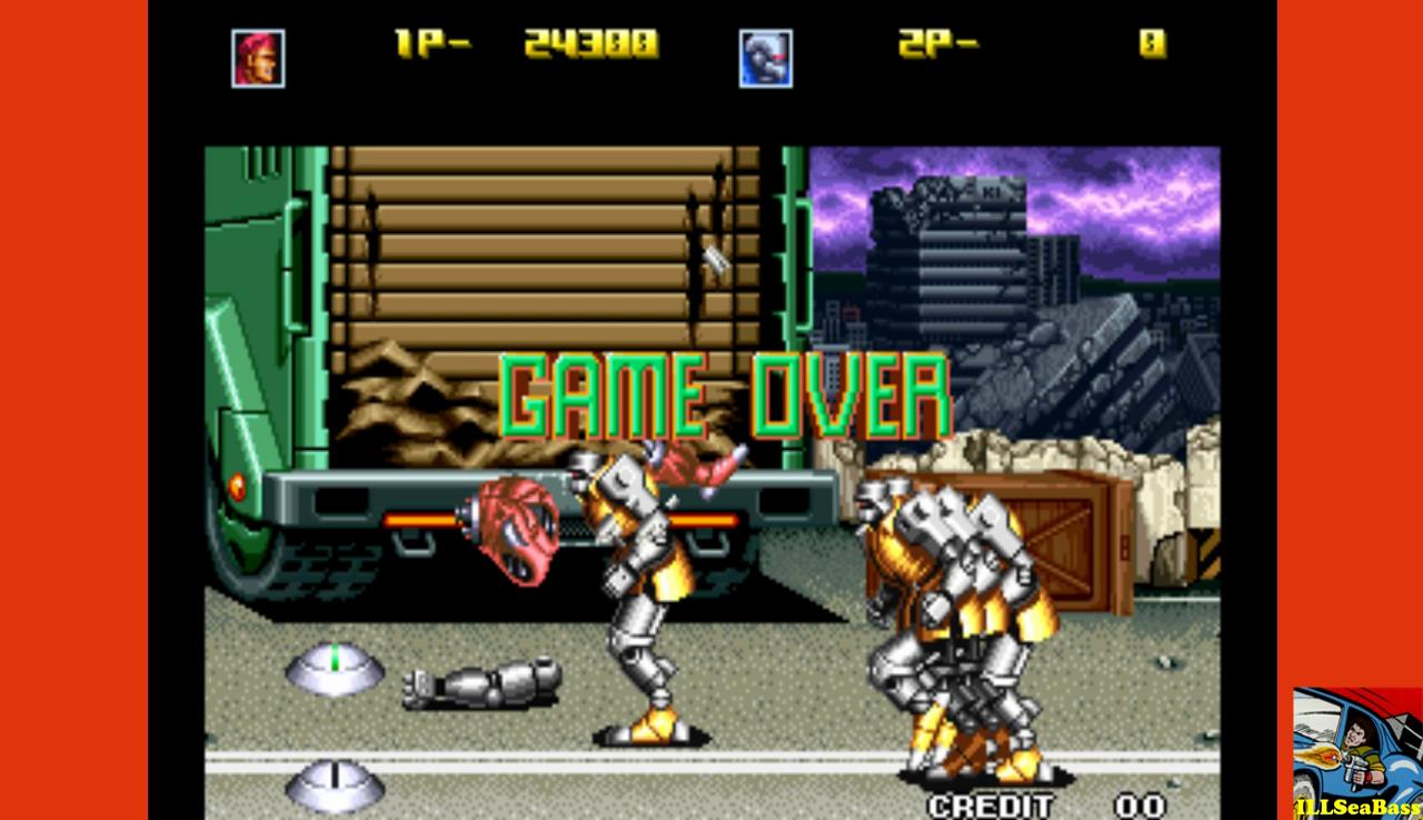 ILLSeaBass: Robo Army (Neo Geo Emulated) 24,300 points on 2017-01-02 01:33:35