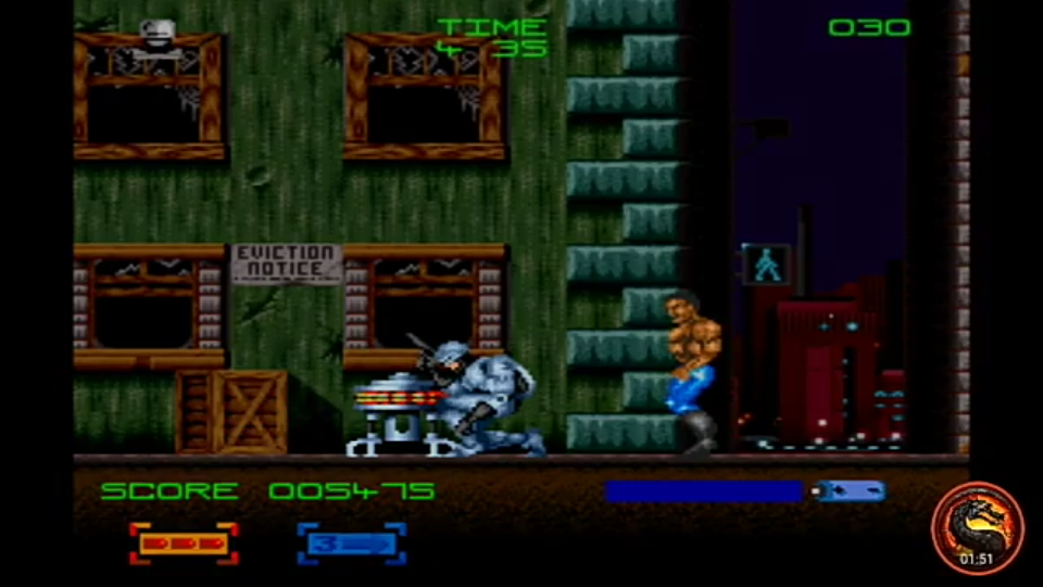 omargeddon: RoboCop 3 (SNES/Super Famicom Emulated) 5,475 points on 2020-05-24 18:14:46