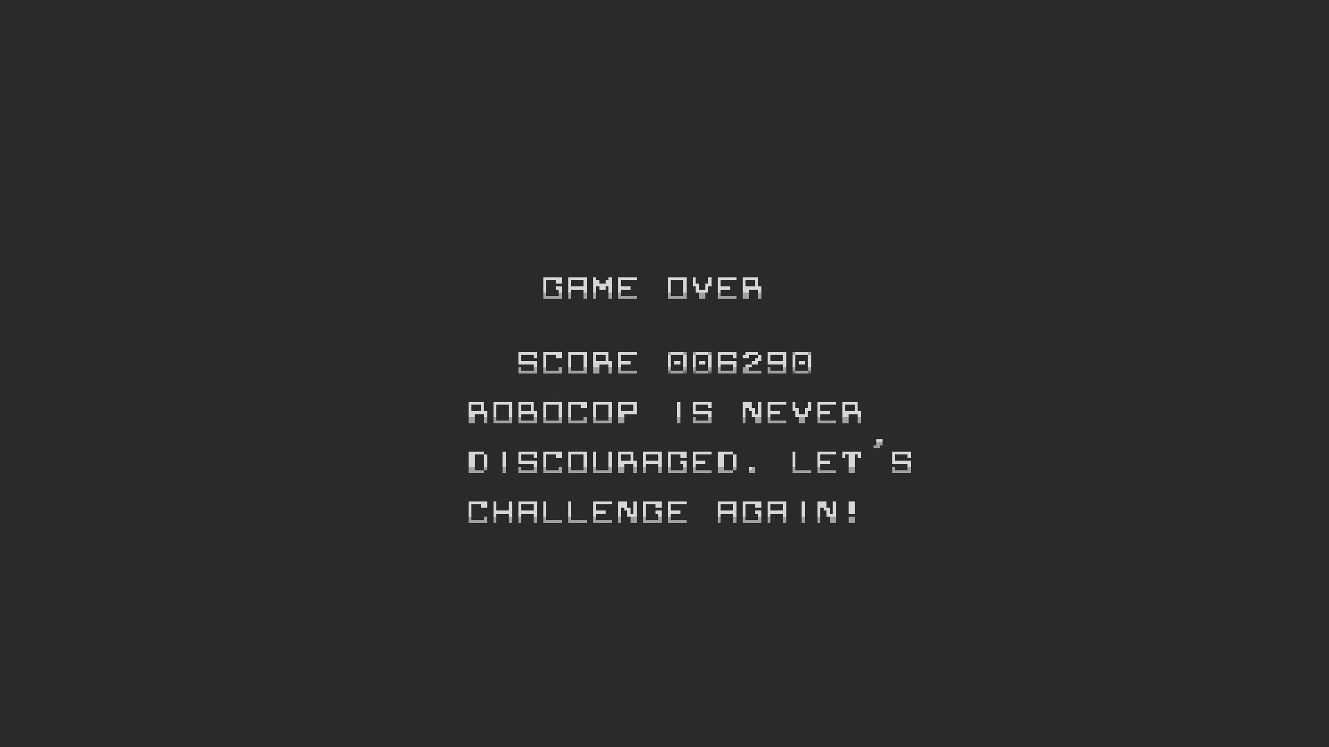 AkinNahtanoj: RoboCop (NES/Famicom Emulated) 6,290 points on 2020-10-16 02:56:15