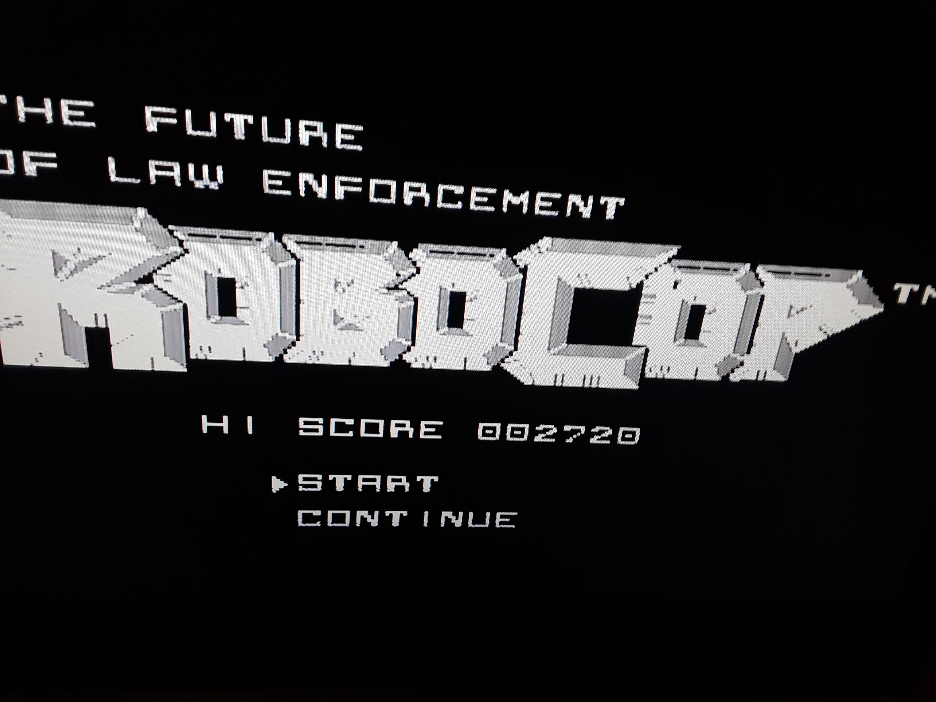 RoboCop 2,720 points