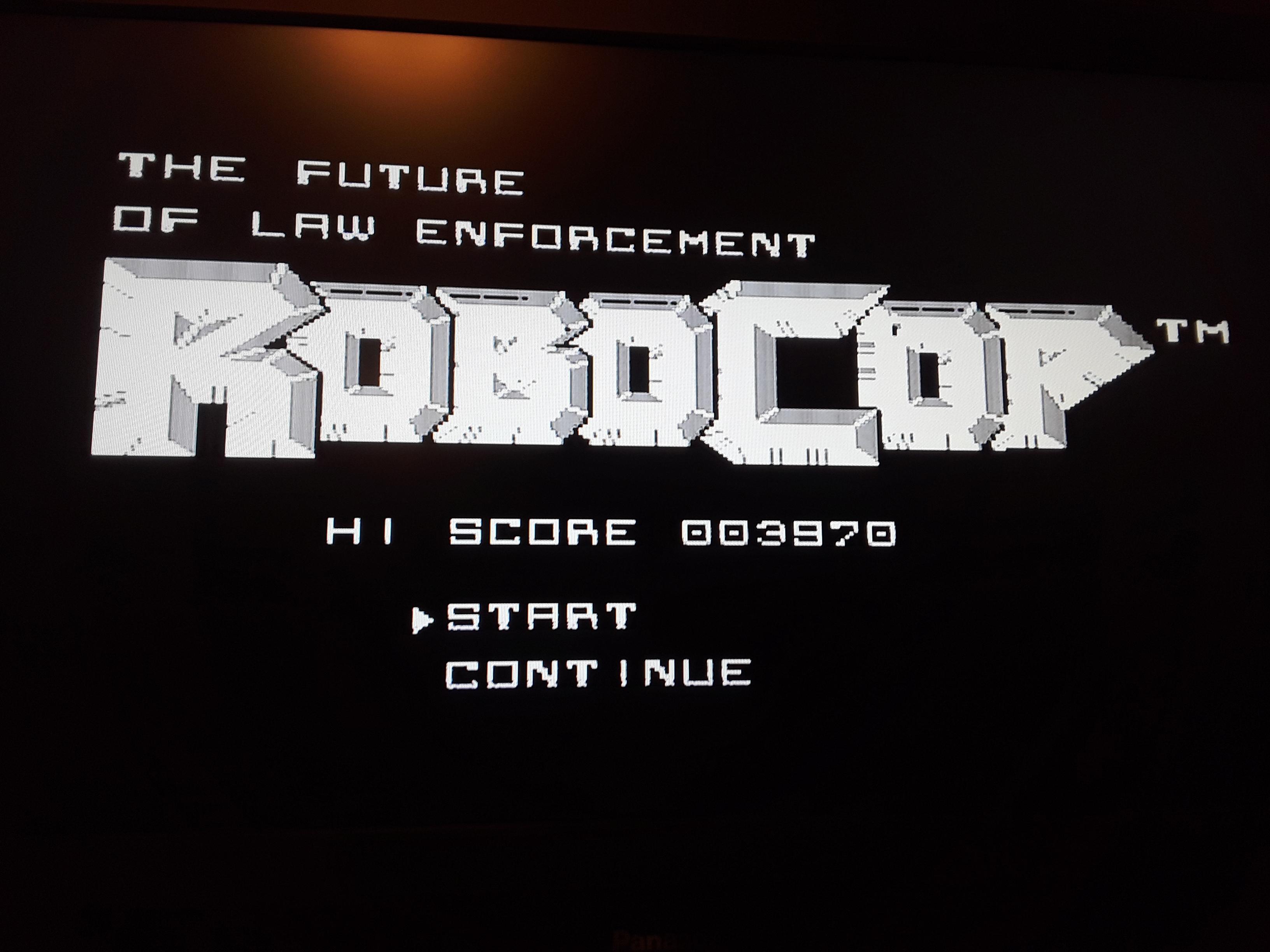 RoboCop 3,970 points