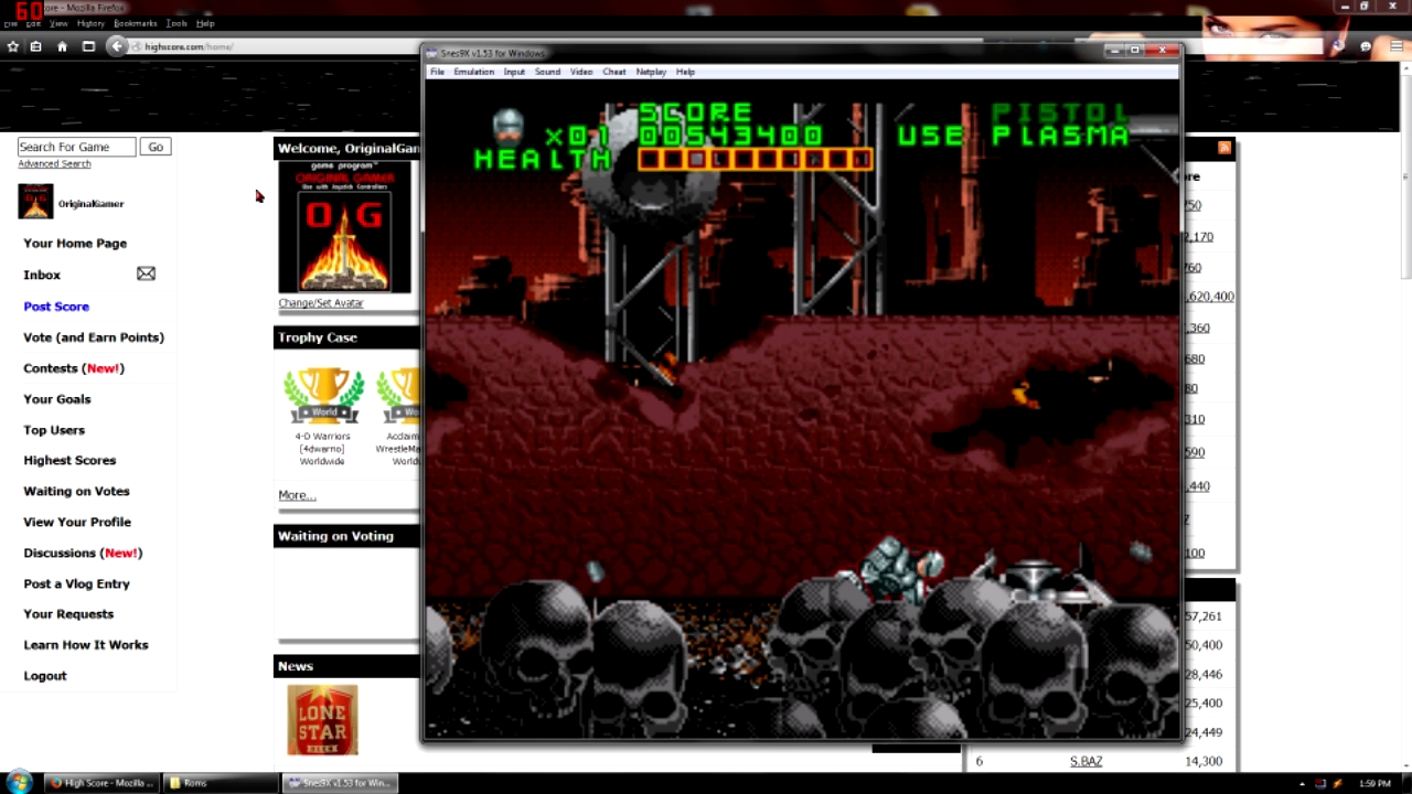 OriginalGamer: RoboCop Versus The Terminator (SNES/Super Famicom Emulated) 543,400 points on 2015-09-07 23:20:51