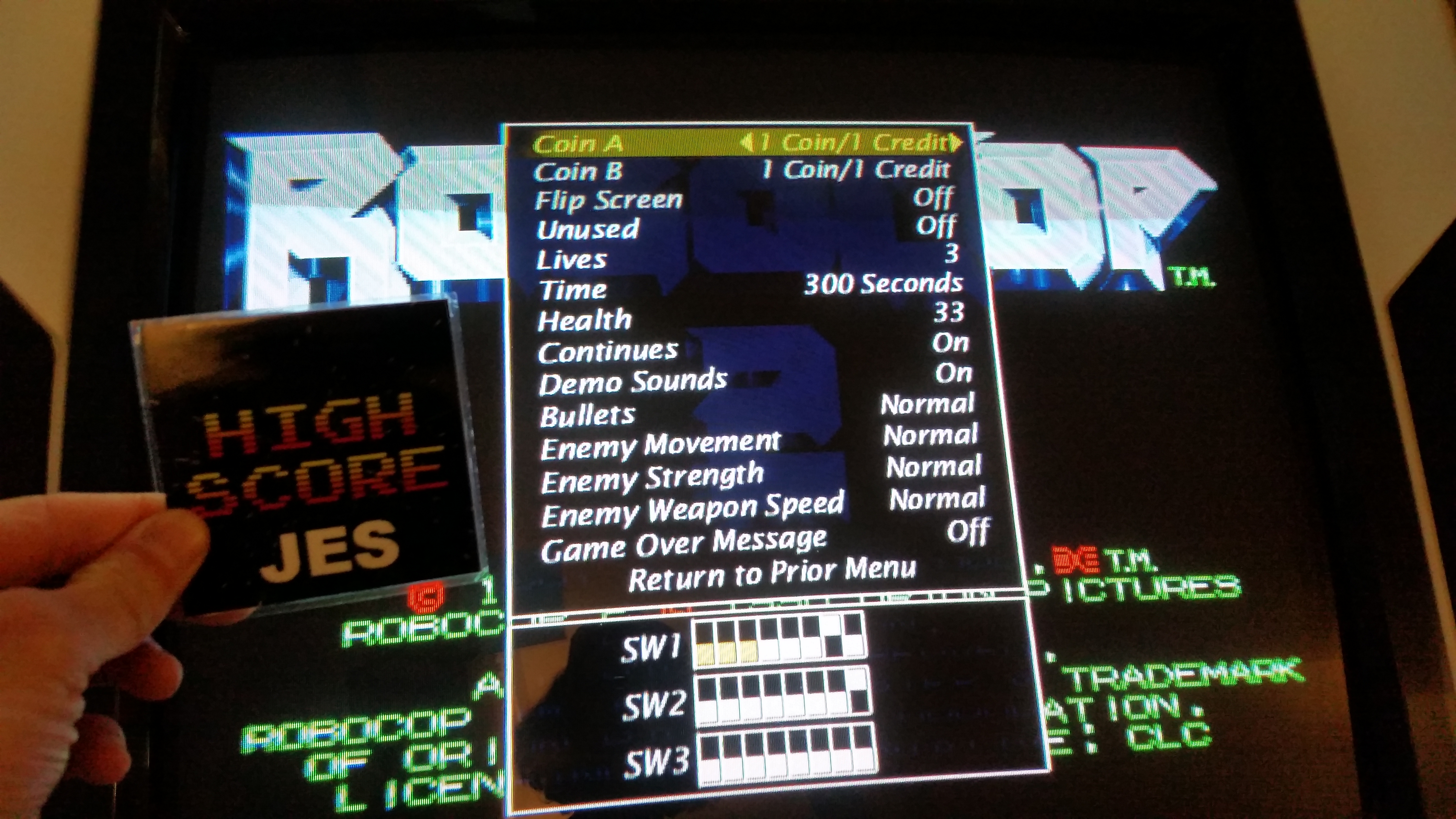 Robocop 2 [robocop2	] 212,600 points