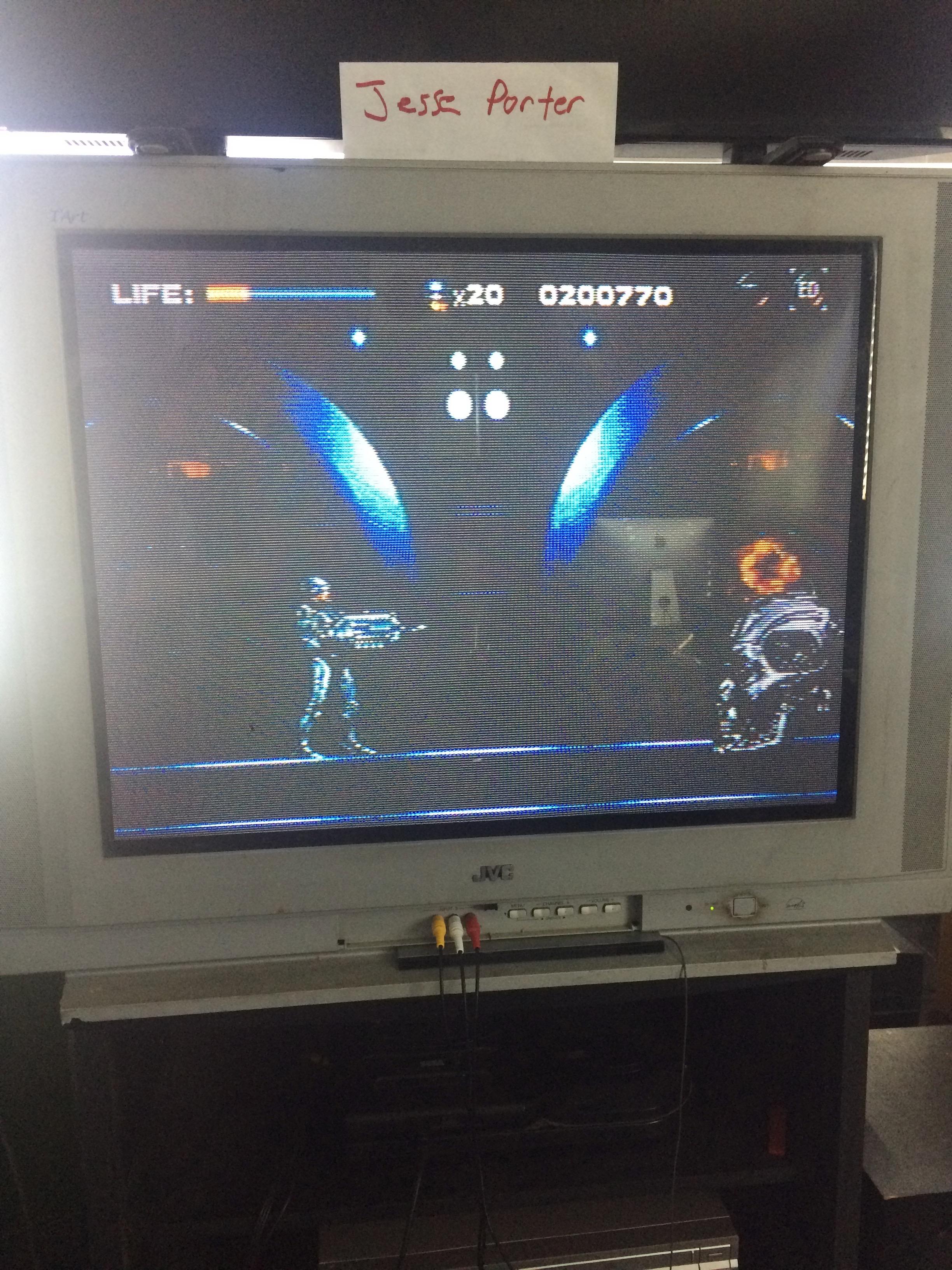 JessePorter: Robocop Versus Terminator (Sega Genesis / MegaDrive) 200,770 points on 2016-10-22 15:57:18