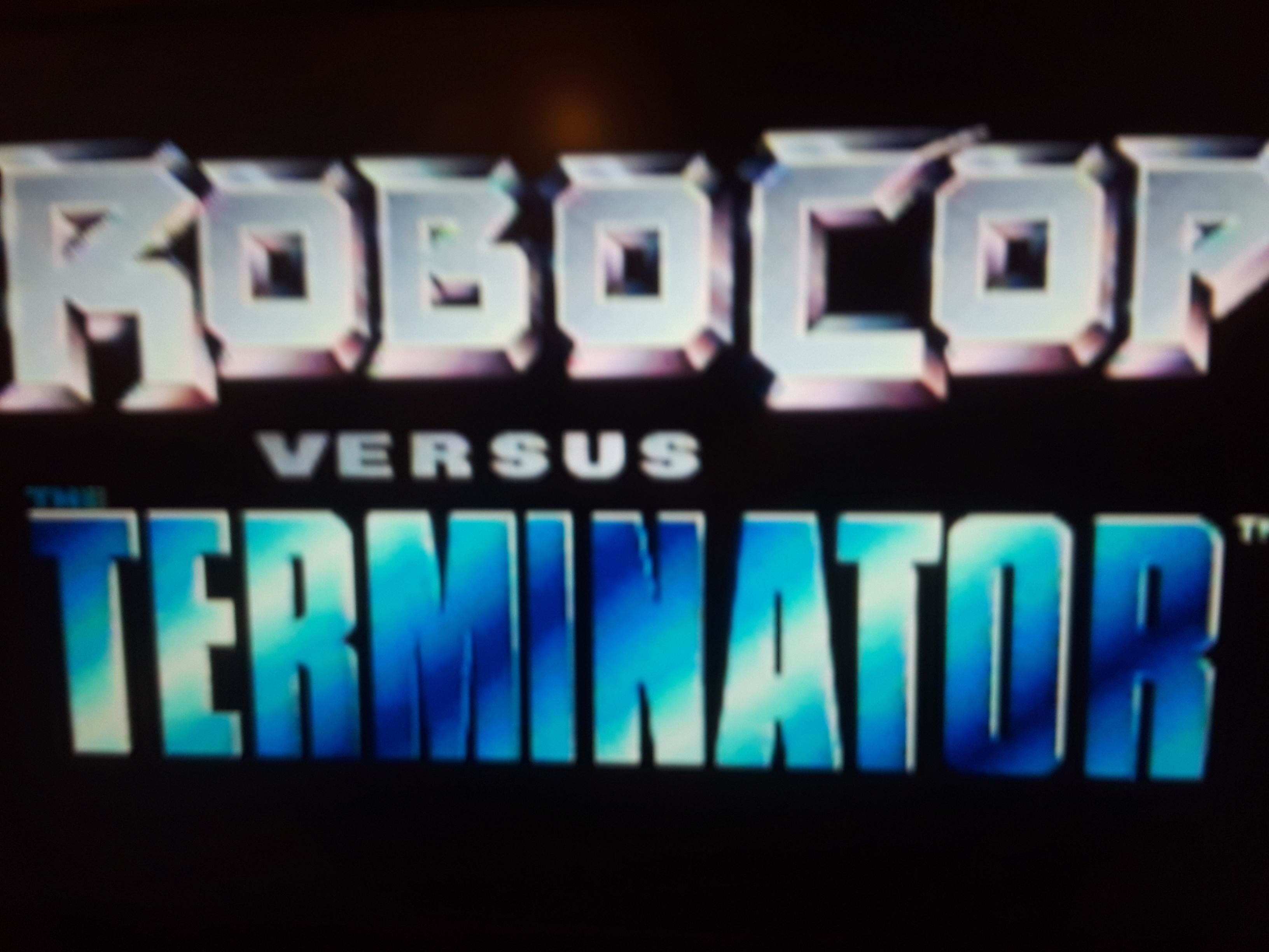 Robocop versus The Terminator [Killer] 13,410 points