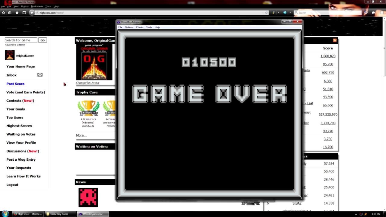 OriginalGamer: Robocop vs. The Terminator (Game Boy Emulated) 10,500 points on 2015-09-07 23:17:16