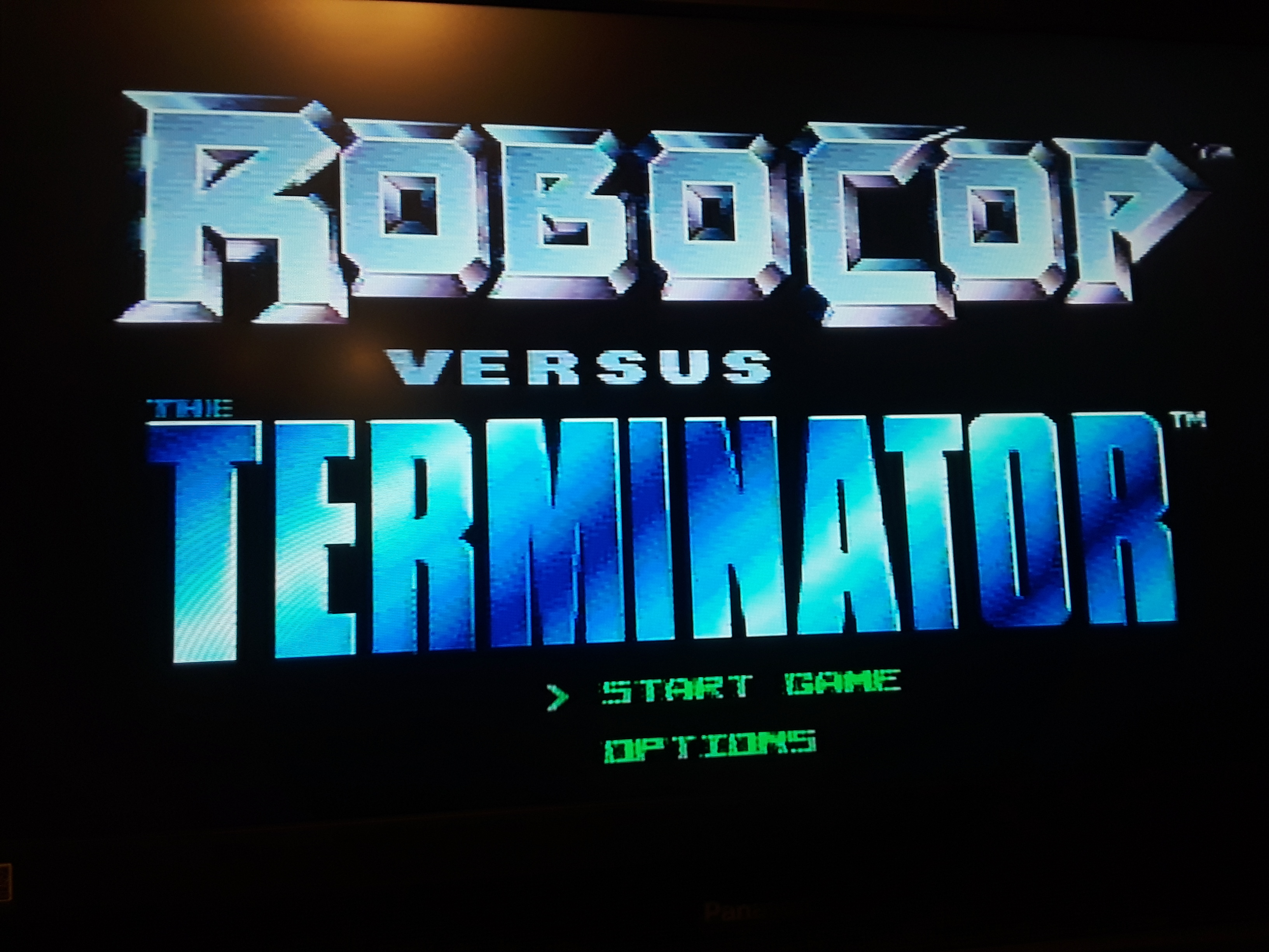 Robocop vs. The Terminator [Hard] 11,910 points