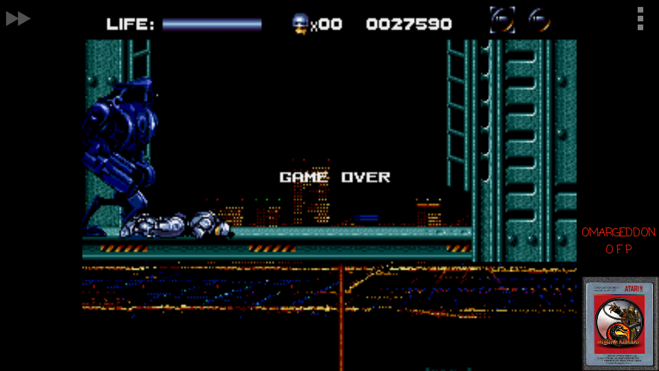 omargeddon: Robocop vs. The Terminator [Medium] (Sega Genesis / MegaDrive Emulated) 27,590 points on 2017-03-21 01:23:31