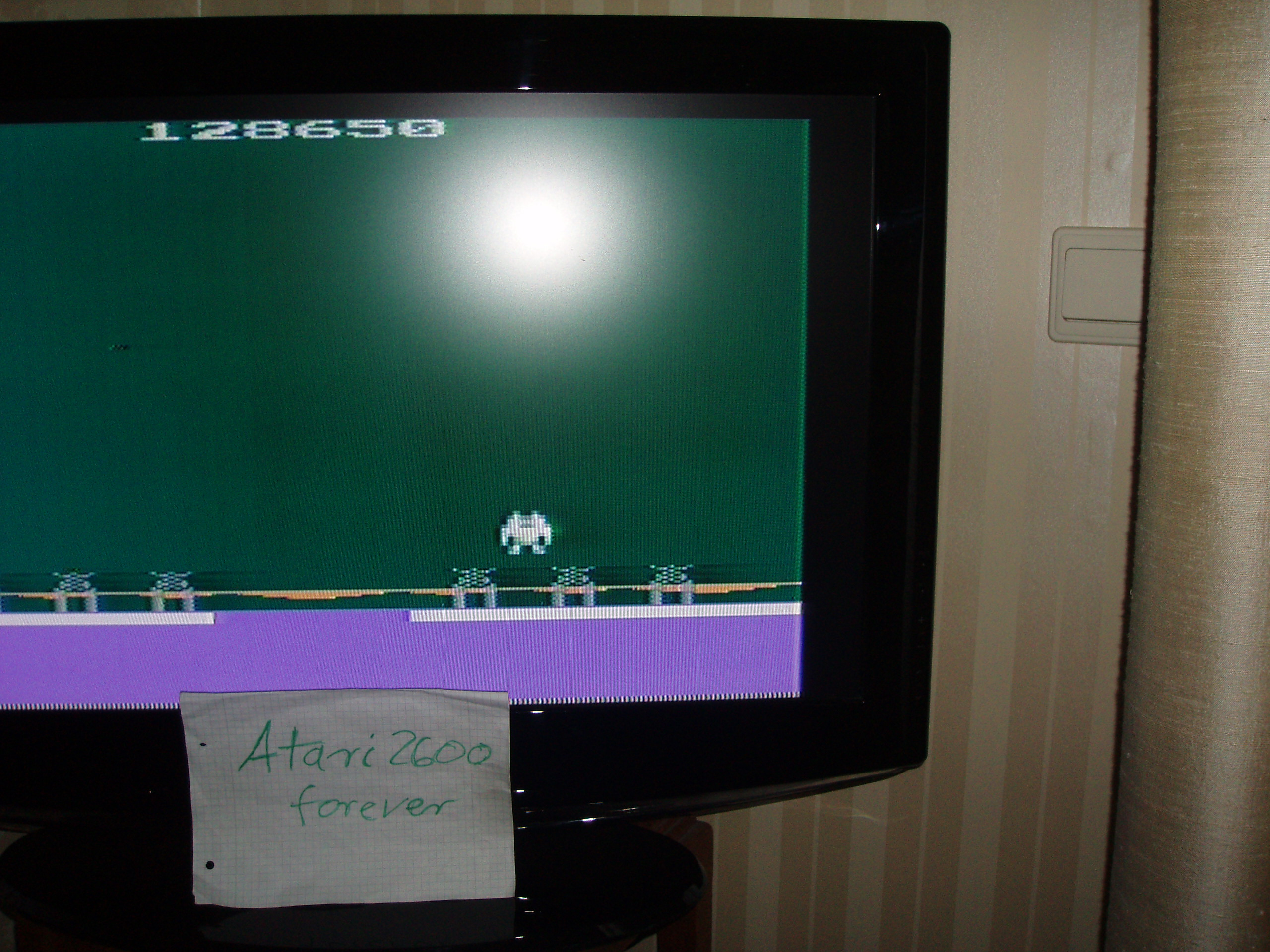 atari2600forever: Robot Fight (Atari 2600 Novice/B) 128,650 points on 2017-04-18 05:12:40
