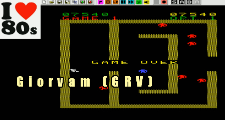 Giorvam: Robot Killer (Arcadia 2001 Emulated) 7,540 points on 2018-01-21 05:21:55