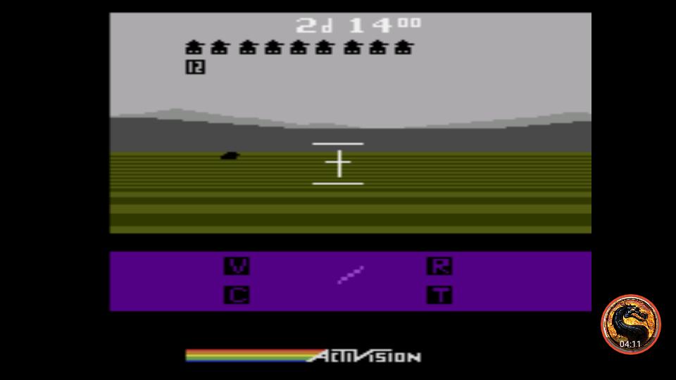 omargeddon: Robot Tank (Atari 2600 Emulated Novice/B Mode) 21 points on 2019-04-17 21:54:02